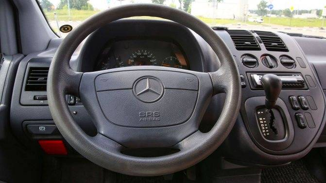 Mercedes vito w638 - проблемы и неисправности