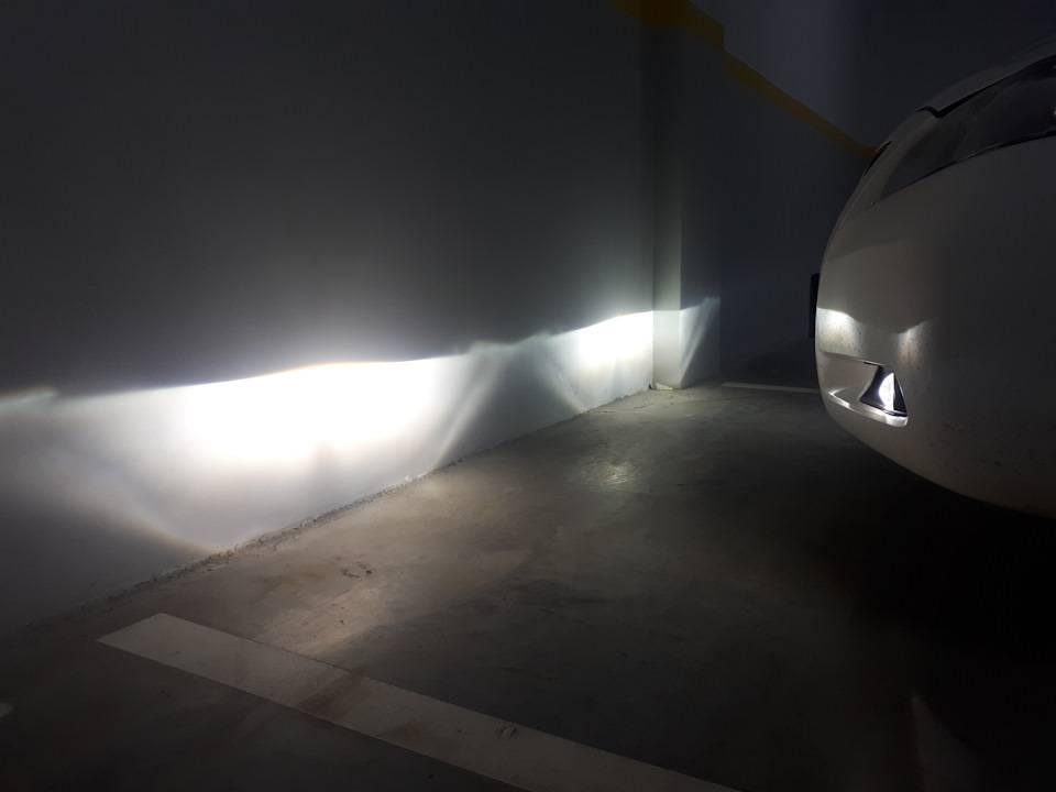Штраф или лишение прав грозит за led-лампы и ксенон сегодня?