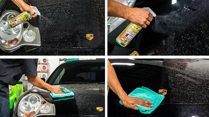 Сухая мойка — как помыть автомобиль без воды