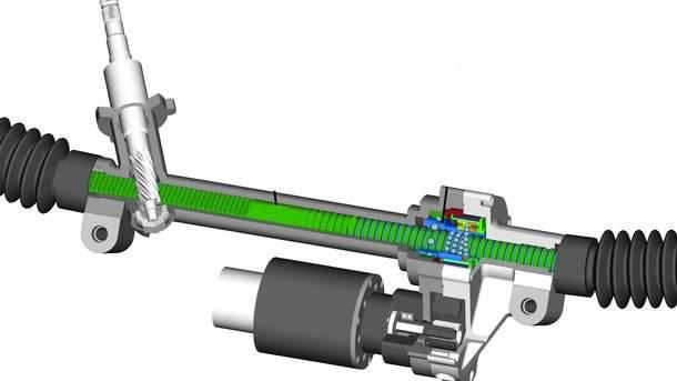 Признаки неисправности рулевой рейки и её ремонт