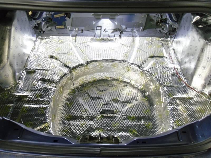 Шумоизоляция колёсных арок автомобиля своими руками