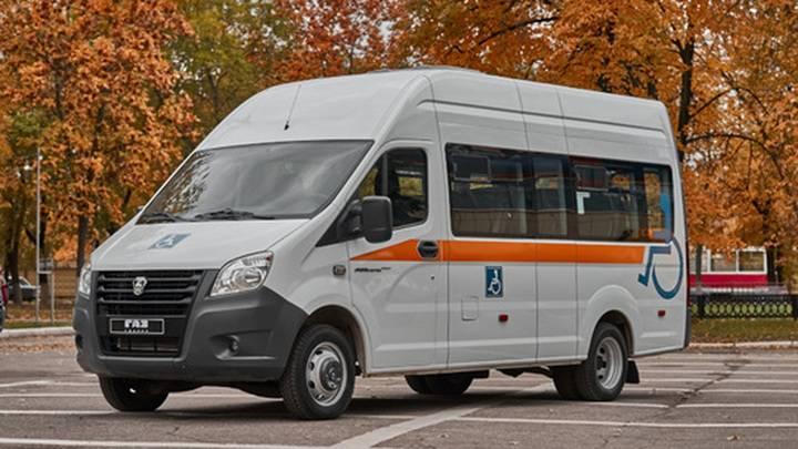 ГАЗ готовит к выпуску удлиненную версию автобуса ГАЗель NEXT