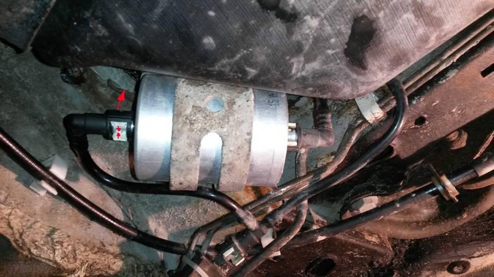 Форд фокус замена топливного фильтра