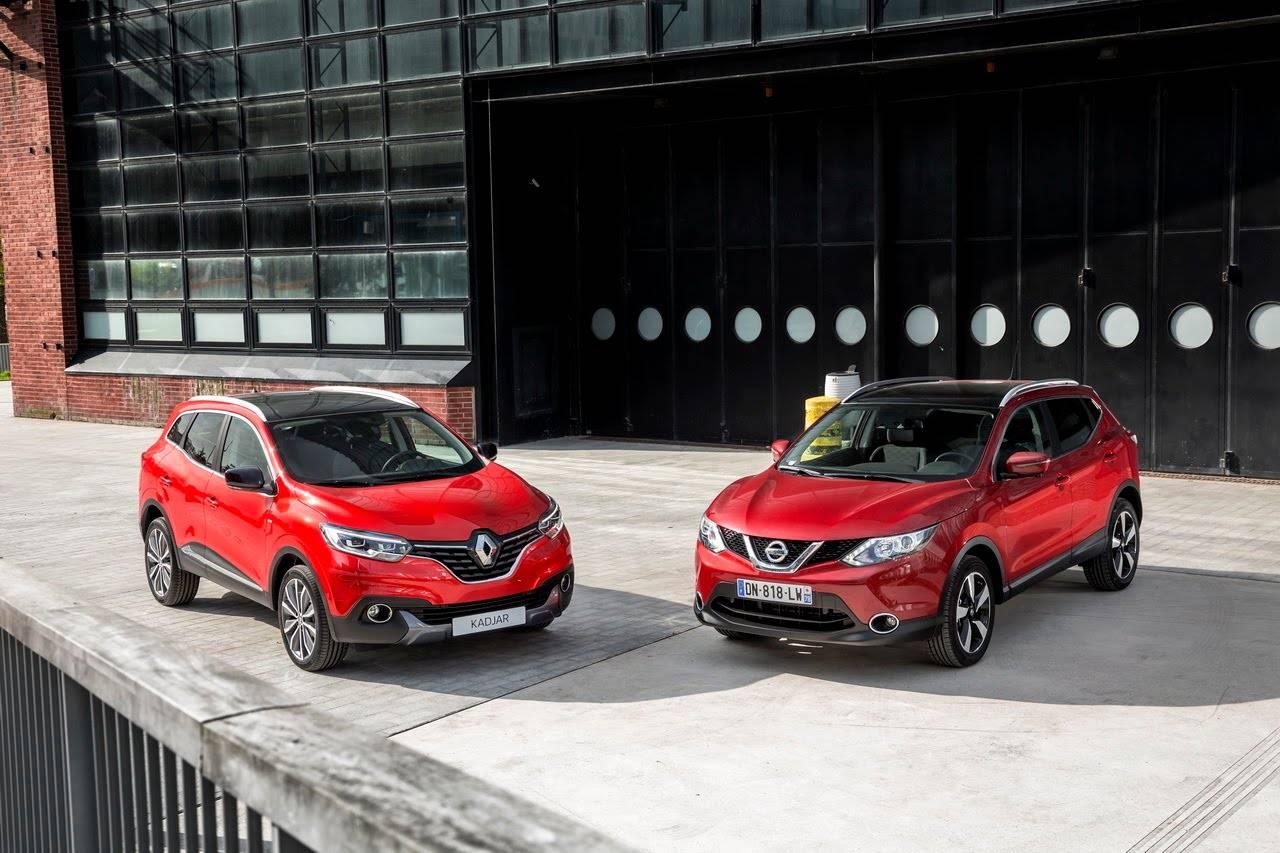 Битва кроссоверов: Nissan Qashqai против Renault Kaptur