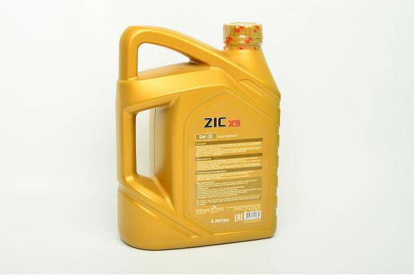 Обзор моторного синтетического масла zic 5w40