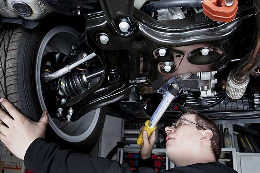 Как проводится диагностика подвески автомобиля своими руками - статьи