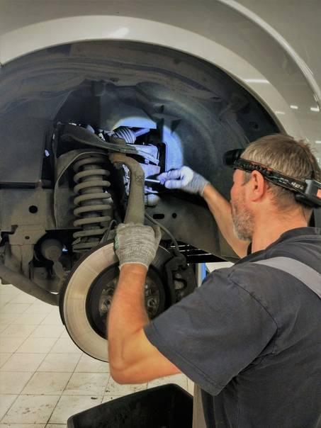 Диагностика подвески автомобиля