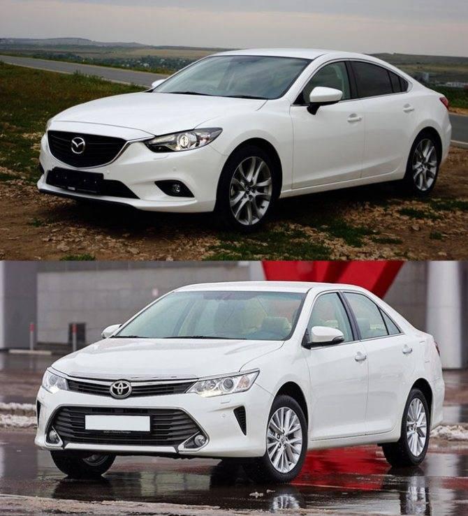 Что выбрать: Mazda 6 или Toyota Camry