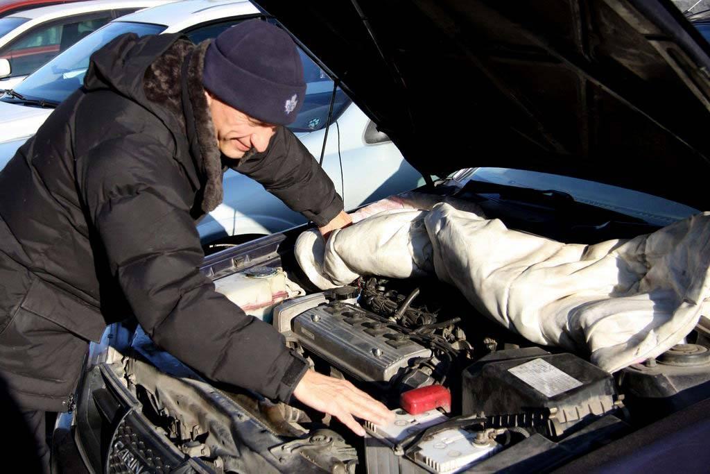Прогрев дизельного двигателя зимой