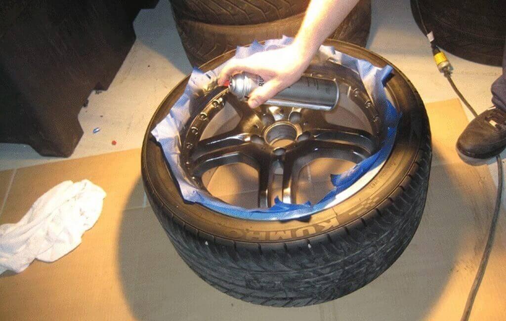 Как и чем красить колесные диски автомобиля