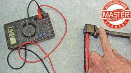 Как проверить датчик фаз мультиметром, проверка дпрв