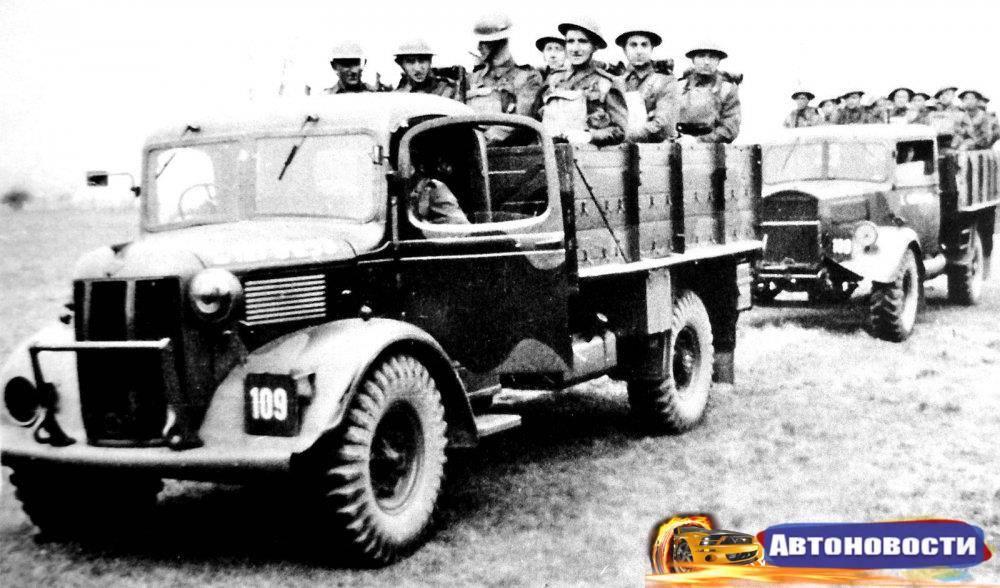 Немецкие военные грузовики второй мировой войны