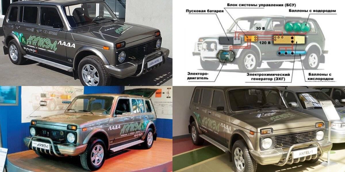 Водородная lada  - автомобиль нового поколения