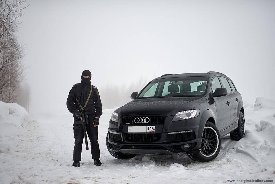 Audi q7 (2005-2015) – искушение колец