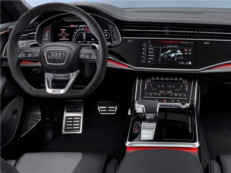 Audi RS Q8 2020 – новый сверхбыстрый кроссовер со спортивным характером