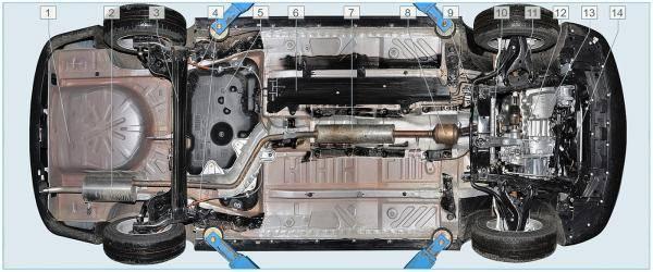 Обзор моторов lada xray