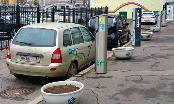 В России растут продажи электромобилей с пробегом