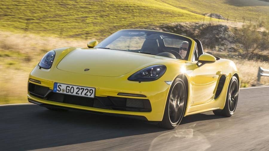 Немецкий Porsche представил доступные версии 718 модели Cayman и Boxster GTS