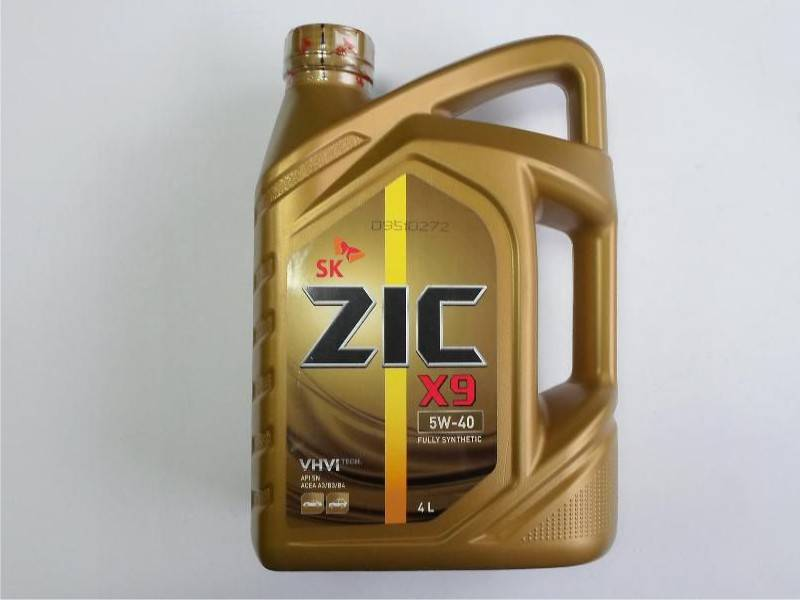 Обзор масла zic x9 5w-40 - тест, плюсы, минусы, отзывы, характеристики