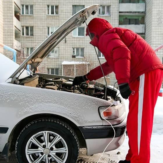 Автомобили зимой: легкий запуск при -30 °c