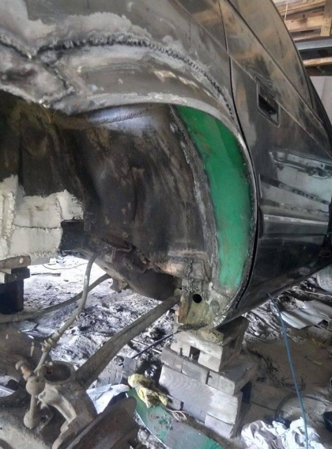 Все про ремонт кузова автомобиля своими руками: сварка металла