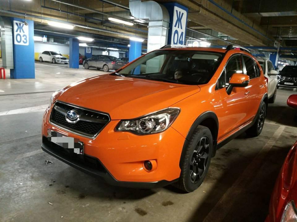 Subaru xv (2011-2017) – буря в звездах