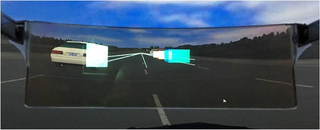 Проекция на лобовое стекло автомобиля: скорость и изображение