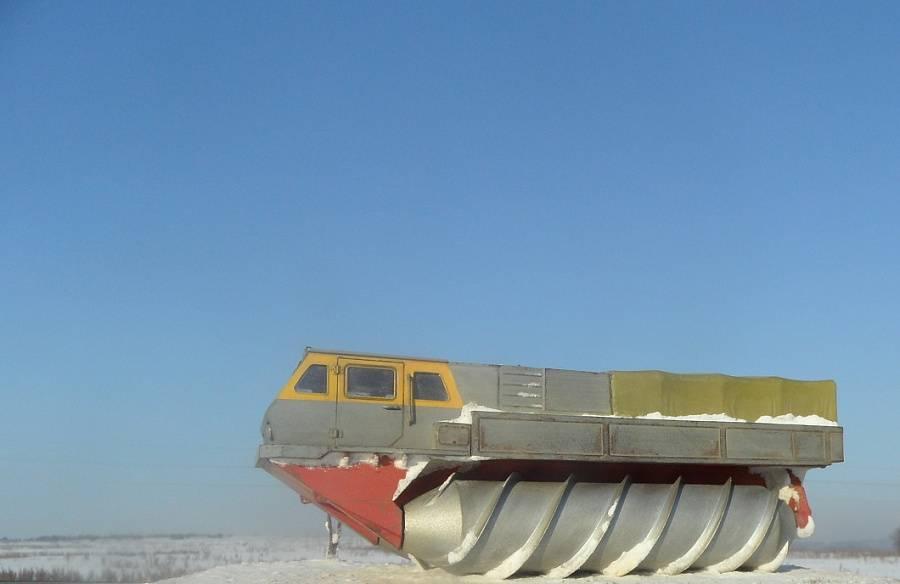 Шнеко-роторный вездеход зил – 4904 — электронная энциклопедия тпу