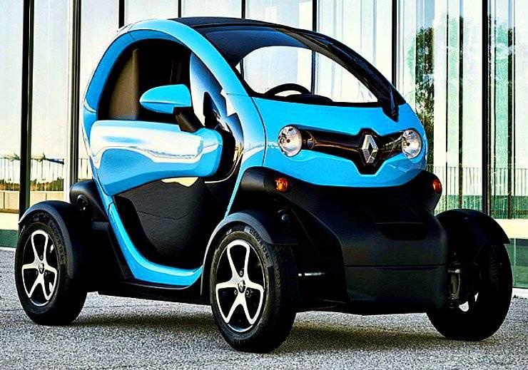 Французский электромобиль renault zoe