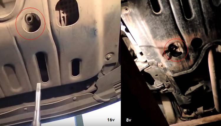Замена масла в двигателе рено логан – пошаговая инструкция