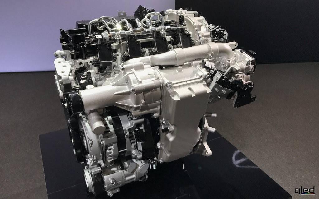 Вся суть работы нового двигателя skyactiv-x от мазда