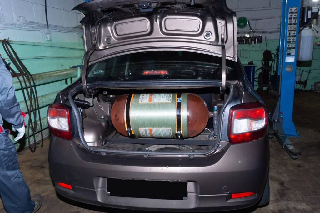 Установка газобаллонного оборудования (гбо) на автомобиль.