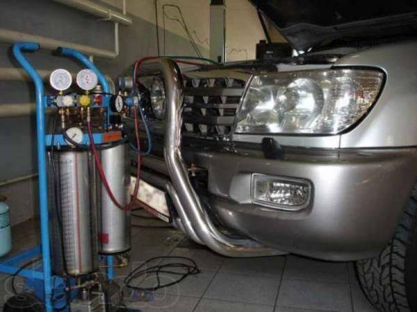 Заправка фреоном кондиционера автомобиля своими руками