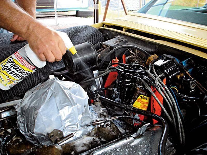 Самостоятельная мойка двигателя автомобиля своими руками
