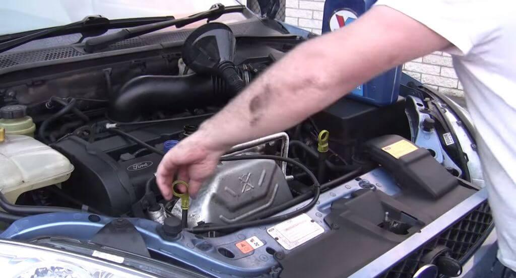 Замена масла и масляного фильтра в дизельном двигателе 1,6 (для применения на моделе ford focus ii)