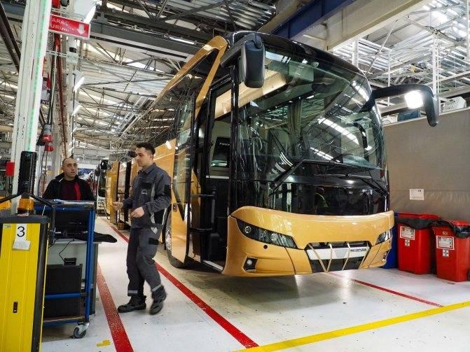 Как делают автобусы   fresher - лучшее из рунета за день