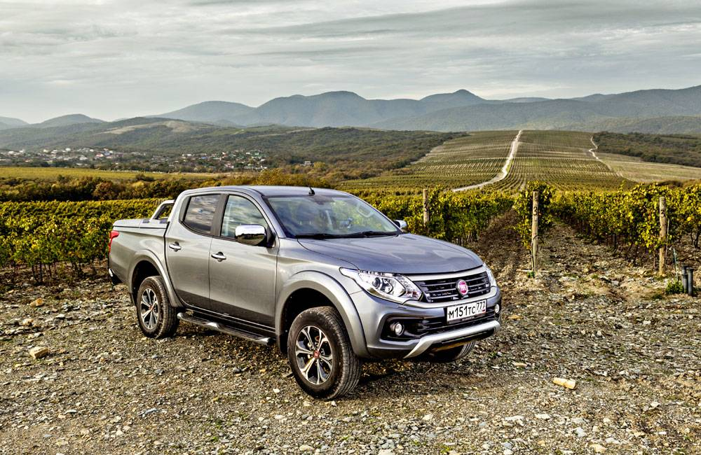 Fiat fullback – новый коммерческий автомобиль на российском рынке