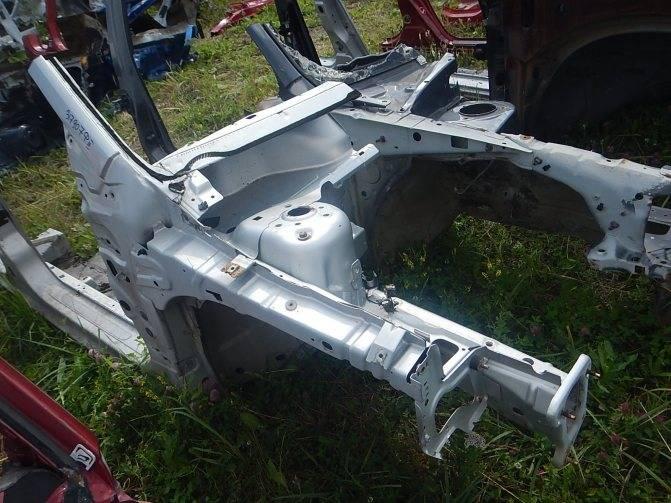 Лонжероны в автомобиле, где находятся и для чего нужны, как выровнять погнутый, ремонт и восстановление рамы, передний и задний, левый и правый