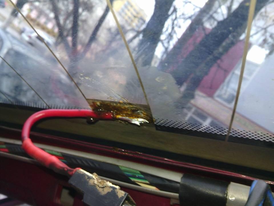 Ремонт обогрева заднего стекла: нитей, контактов, проводки своими руками