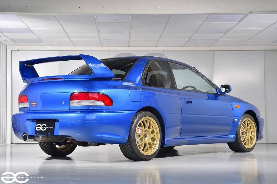 Subaru impreza 22b sti - s22b