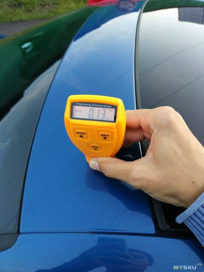 Толщиномер для лакокрасочного покрытия автомобиля: принцип работы, какой выбрать, как пользоваться
