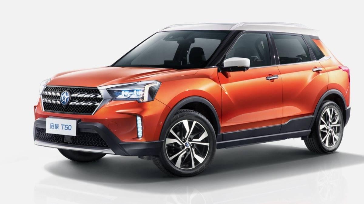 Nissan создал с китайцами новый электрокар размером с Qashqai