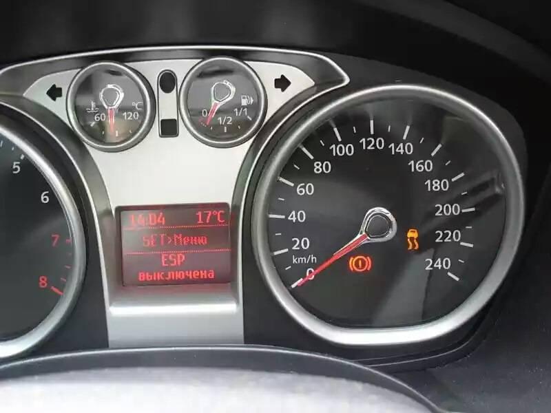 Загорелась лампочка неисправности двигателя форд фокус 2