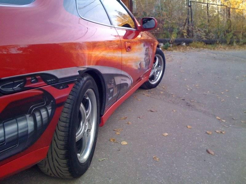 Подруливающие задние колеса