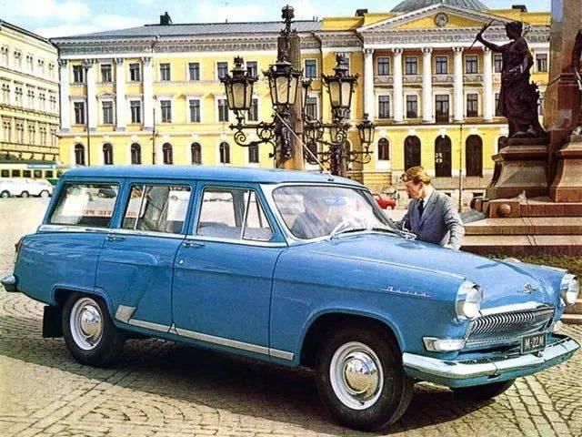 Советские автомобили, которые продавались только за границей - zefirka
