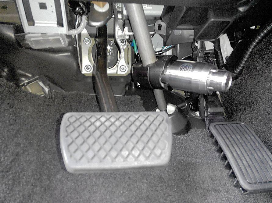 Описание блокиратора рулевого вала, его установка и как сделать своими руками