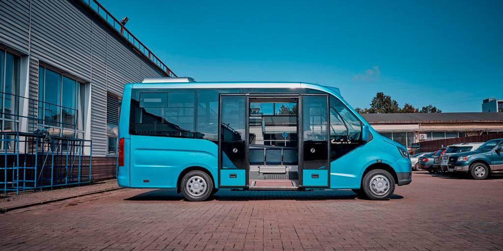 Тест автобуса «газель-next»: вначале маршрута