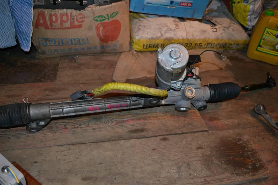 Ремонт рулевой рейки своими руками инструкция с фото