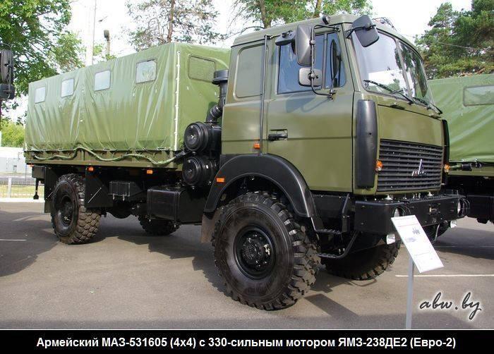 Военный вездеход маз-6317: белорусская замена «уралу»