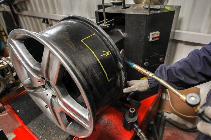 Реставрация и ремонт литых дисков своими руками